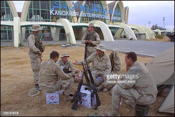S Troops At Kandahar Airport On December 17Th 2001 In Kandahar Afghanistan Special US Forces