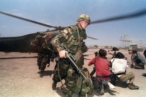 UNS: 19th September 1994 - The U.S. Occupation Of Haiti