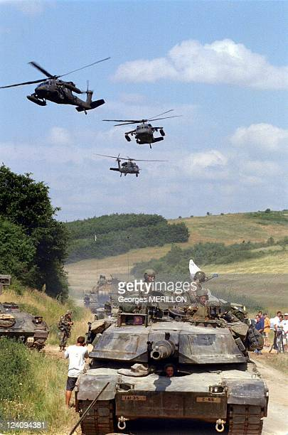 Troops in Kosovo In Yugoslavia On June 14, 1999.