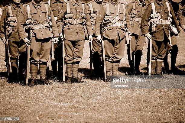 troops. - world war i stock photos and pictures