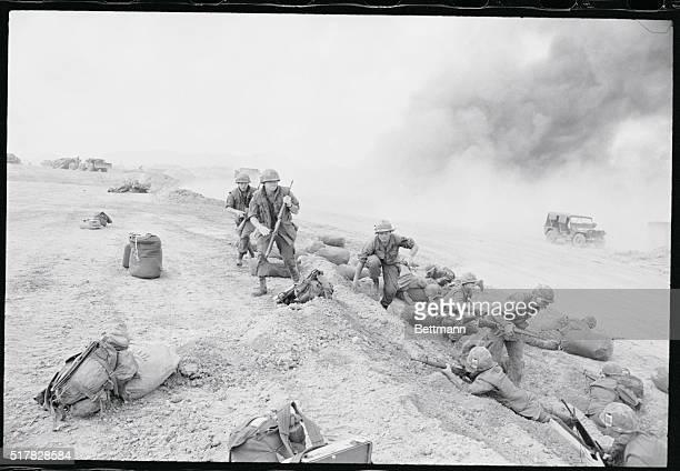US Troops Respond to Ambush in Vietnam 1968 | Location Near Phu Bai South Vietnam