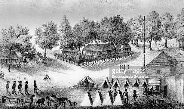 Troops Stationed At Tampa Bay Florida Troops Stationed At Tampa Bay On The Gulf Of Mexico In Florida The Peninsula Was Garrisoned By Army Troops...