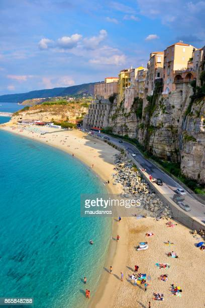 tropea calabria italy - calabria stock pictures, royalty-free photos & images