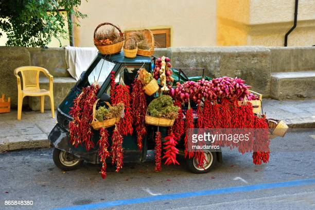 tropea italy - red chili pepper stock pictures, royalty-free photos & images