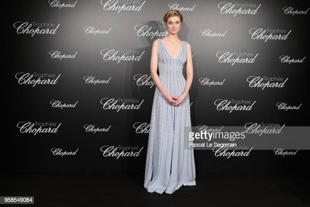 Trophee Chopard laureate Elizabeth Debicki attends the Trophee Chopard during the 71st annual Cannes Film Festival at Hotel Martinez on May 14 2018...