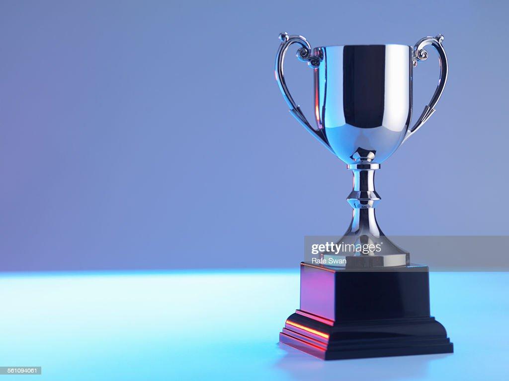 Trophy at award ceremony : Stock Photo