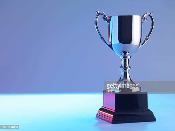 trophy at award ceremony - award stockfoto's en -beelden
