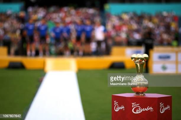 Trophy / Detail View / during the 2nd Tour of Colombia 2019 - Team Presentation / Atanasio Girardot Stadium / @TourColombiaUCI / Tour Colombia 2.1 /...