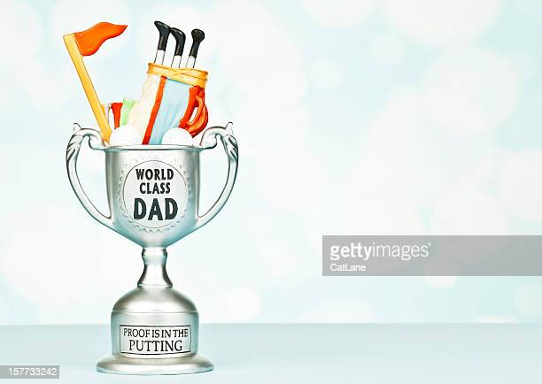 Trophy for World Class Dad