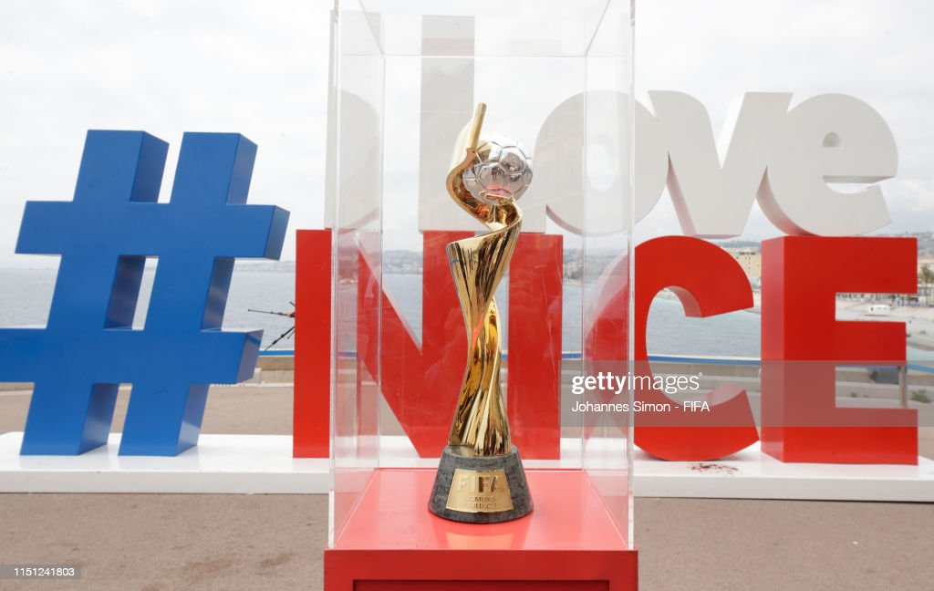 National Trophy Tour: Nice - FIFA Women's World Cup France 2019 : News Photo