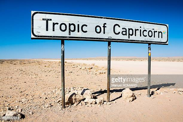 tropic of capricorn - namib naukluft national park stock pictures, royalty-free photos & images