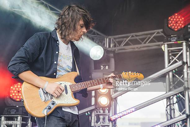 Tropic of Youth perform on the Devonshire Green Stage at Tramlines Festival on July 25 2015 in Sheffield United Kingdom