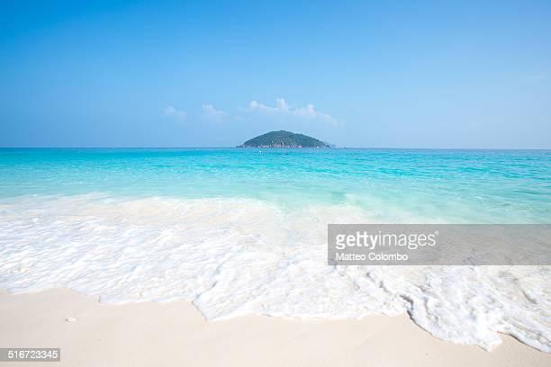 Tropical beach and island in Thailand