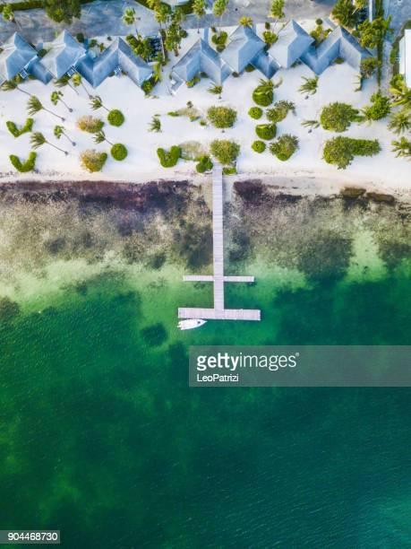 Tropical beach in Caribbean - Grand Cayman Island