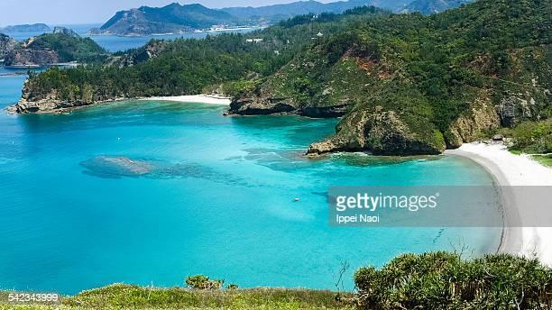 Tropical beach, Ogasawara Islands National Park
