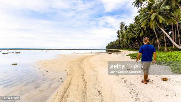 Tropical Beach on Nias Island in North Sumatra
