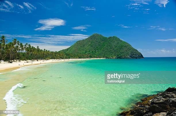 playa tropical - paisajes de venezuela fotografías e imágenes de stock