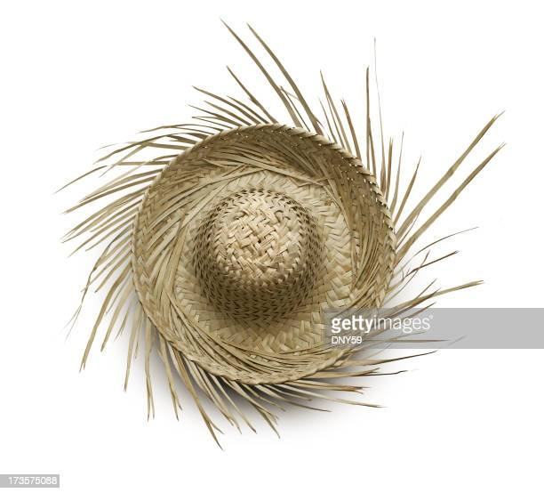 Tropical Beachcomber Hat Isolated On White Background