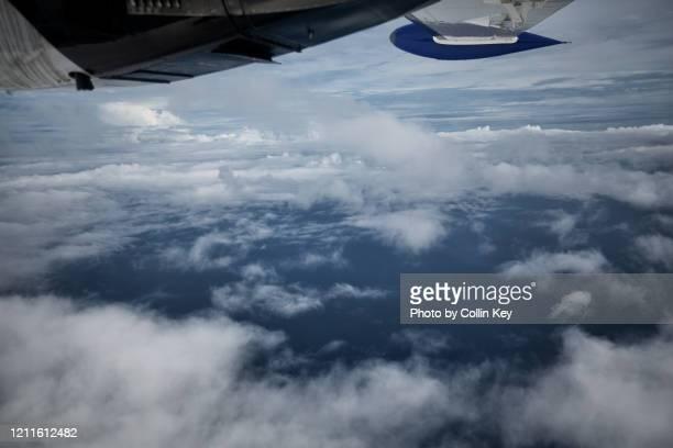 tropical cloud formation ii - collin key stock-fotos und bilder