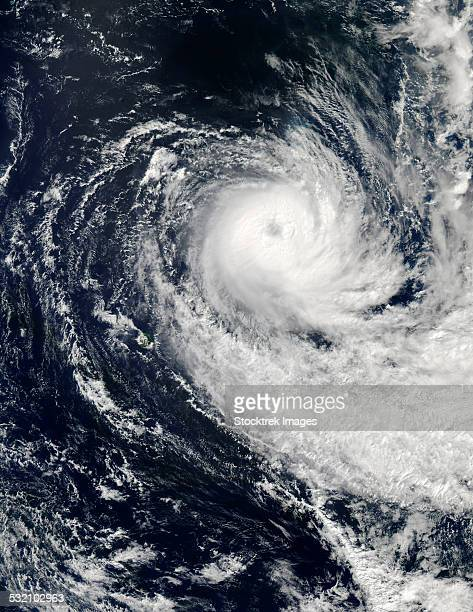 Tropical Cyclone Imelda over the southern Indian Ocean.