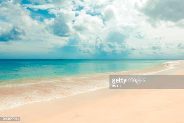 tropical dream beach, uluwatu, bali island, indonesia - bay of water stock pictures, royalty-free photos & images