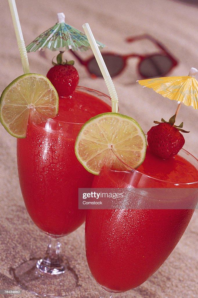 Tropical drinks : Stockfoto