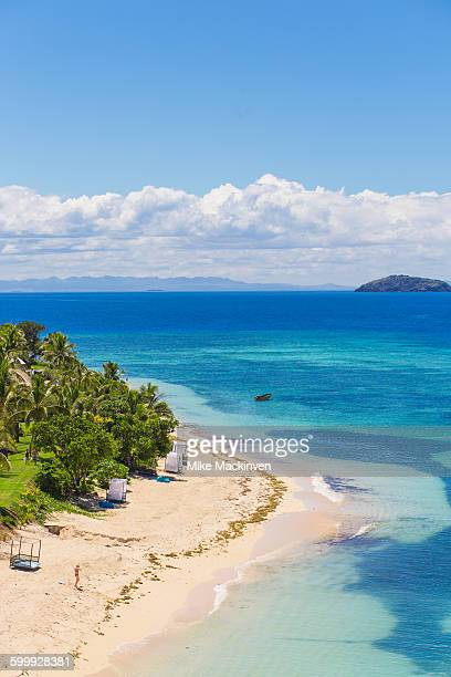 tropical fiji island - western division fiji stock photos and pictures