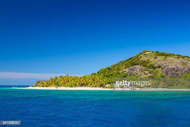 Tropical Fijian resort