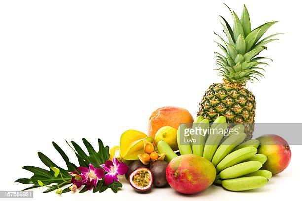 tropical fruits - tropical fruit stock pictures, royalty-free photos & images