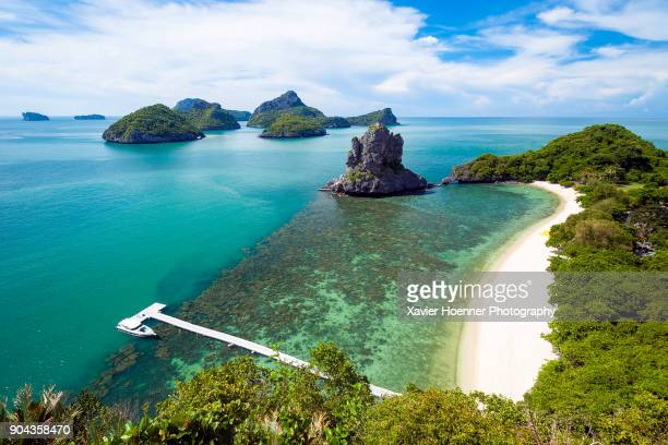 tropical heaven | koh samui - ko samui stock photos and pictures