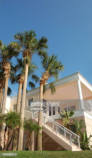 tropical home1 - fort lauderdale stock pictures, royalty-free photos & images
