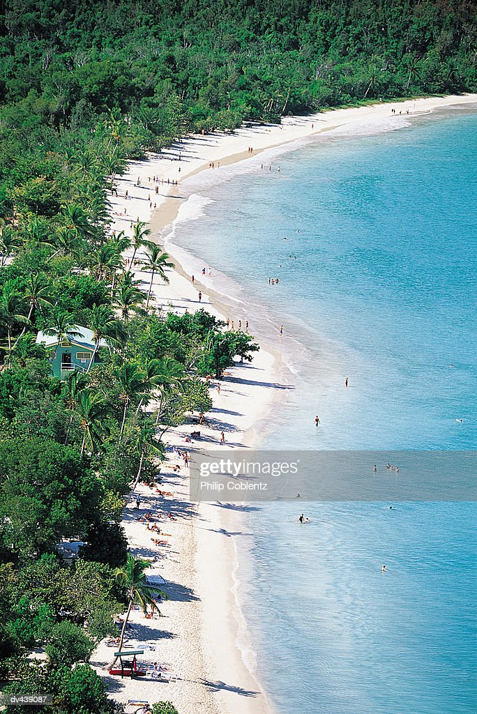 Tropical island beach : Foto de stock
