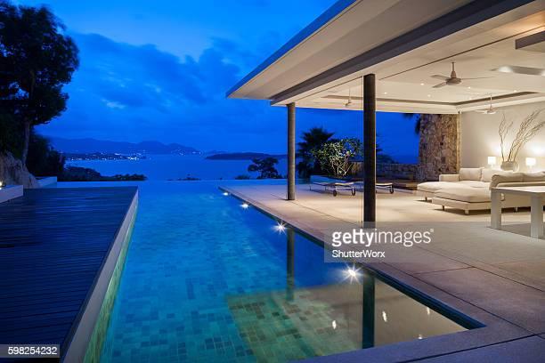 Tropical Island Home