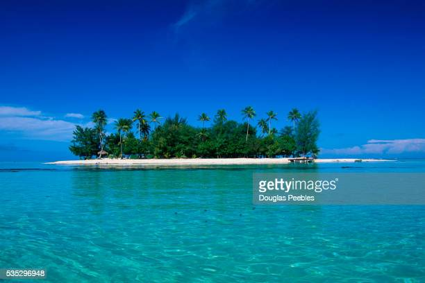 Tropical Island in the Pacific Ocean