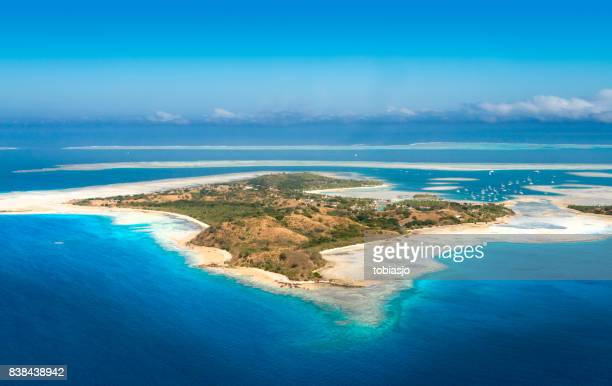 tropical island - western division fiji stock photos and pictures