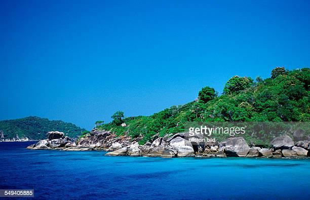Tropical Island Thailand Indian Ocean Phuket Similan Islands Andaman Sea