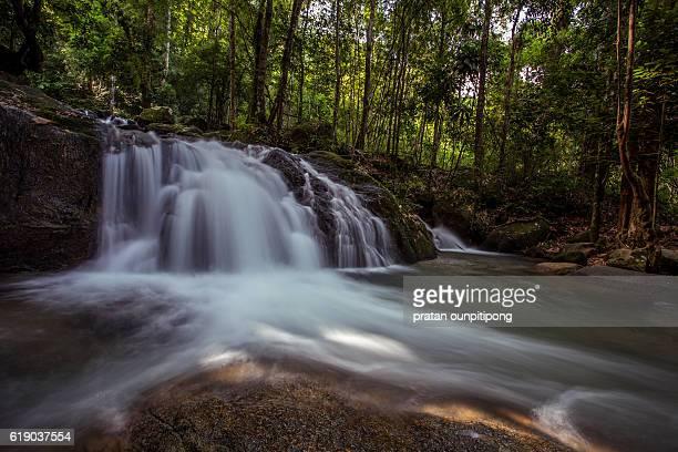 Tropical Krating waterfall