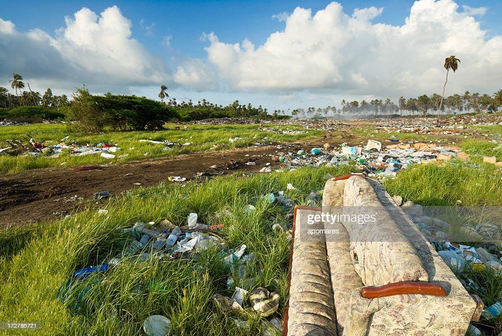 Tropical Landfill : Stock Photo