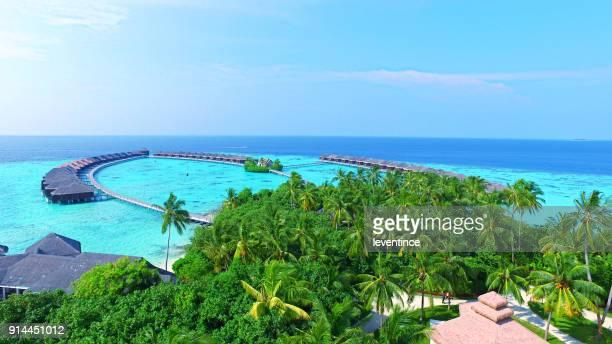 paraíso tropical - ilha ayada - formato de alta definição - fotografias e filmes do acervo
