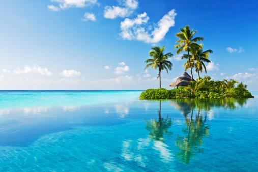 Tropical paradise 133409799