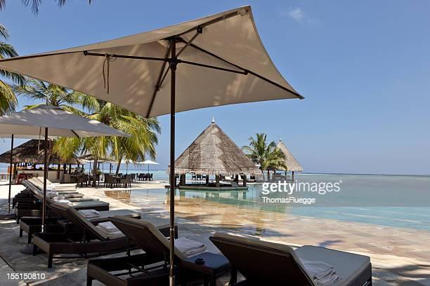 Tropische Pool Bar