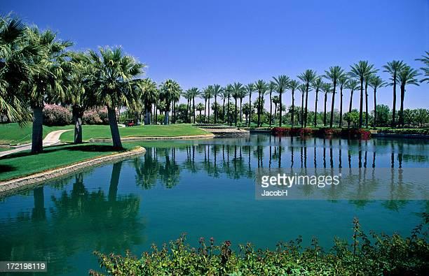Tropisches Resort