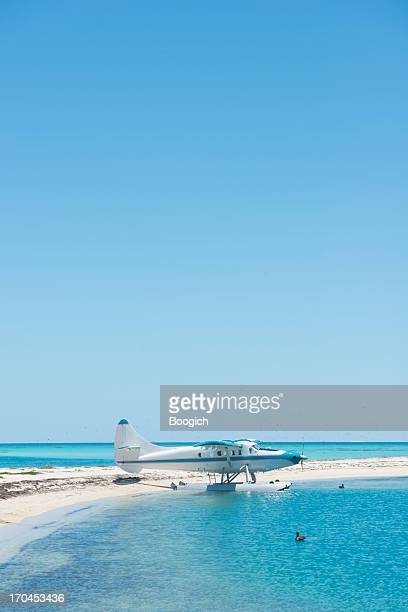Tropical Sea Plane in the Dry Tortugas National Park Florida