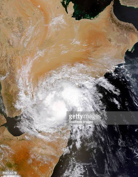 Tropical Storm Three in the northern Indian Ocean.