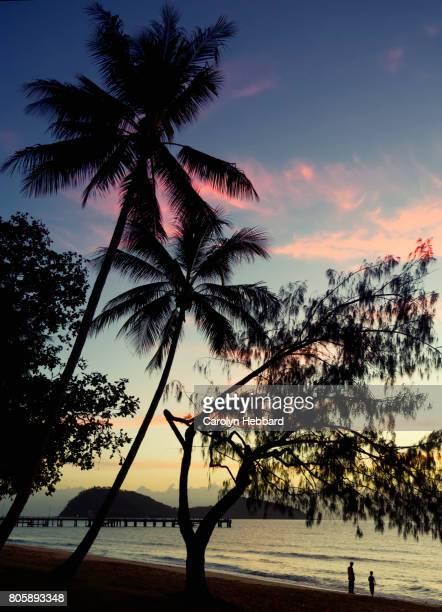 Tropical Sunrise at Palm Cove, Queensland, Australia.