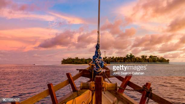 Tropical Sunset in the Mentawai Islands