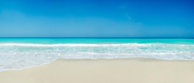 Tropical white sand beach 157194432