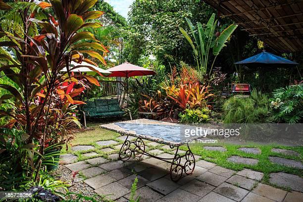 Tropical Yard, Oahu,  Hawaii