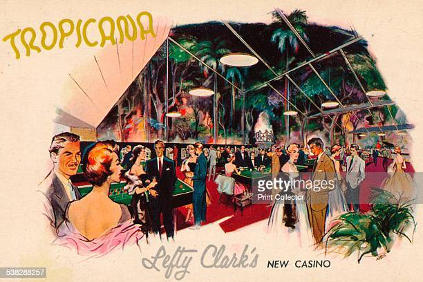Tropicana Lefty Clark's New Casino c1950s Tropicana also known as Tropicana Club is a worldknown cabaret and club in Havana Cuba was opened in 1939...