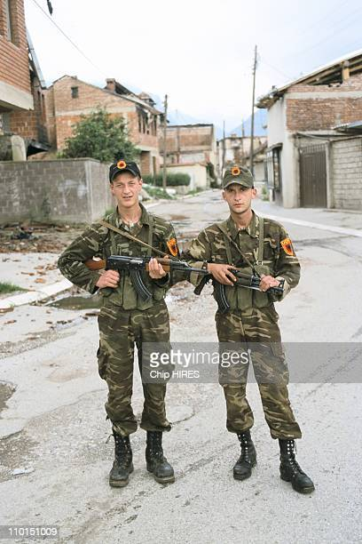 Troubles in Yugoslavia in June 1999 KLA fighters
